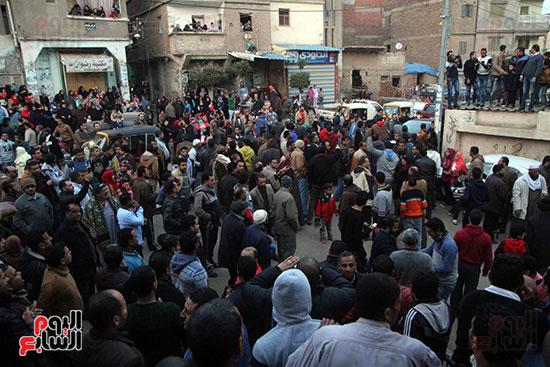 تشييع جثمان عمر عبد الرحمن بمسقط رأسه بالدقهلية (12)