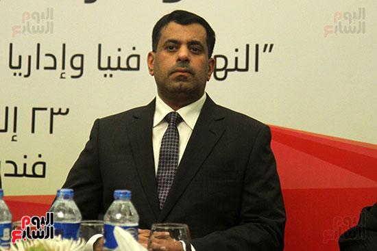 الدكتور حمد الربيعى نائب رئيس جمعية المحامين العمانية