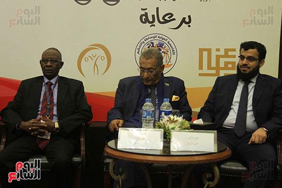 محمد بشارة دوسة وزير العدل السودانى السابق والدكتور صابر عمار