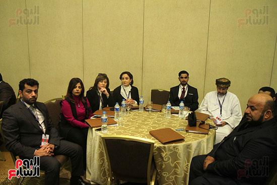 ضيوف المؤتمر العربى الأول للمحاماة