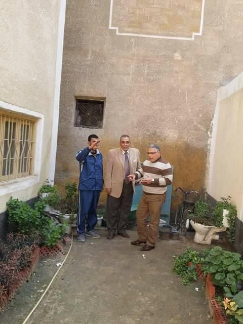 مدير عام إدارة غرب كفر الشيخ يشارك في يوم في حب مصر