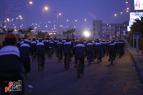 ماراثون دراجات طلاب أكاديمية الشرطة