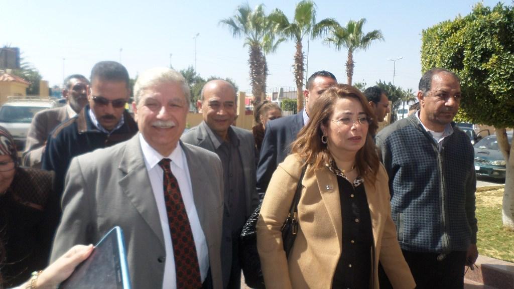 وزير التضامن تصل الاسماعيلية وتلتقى الاسر المسيحية (3)