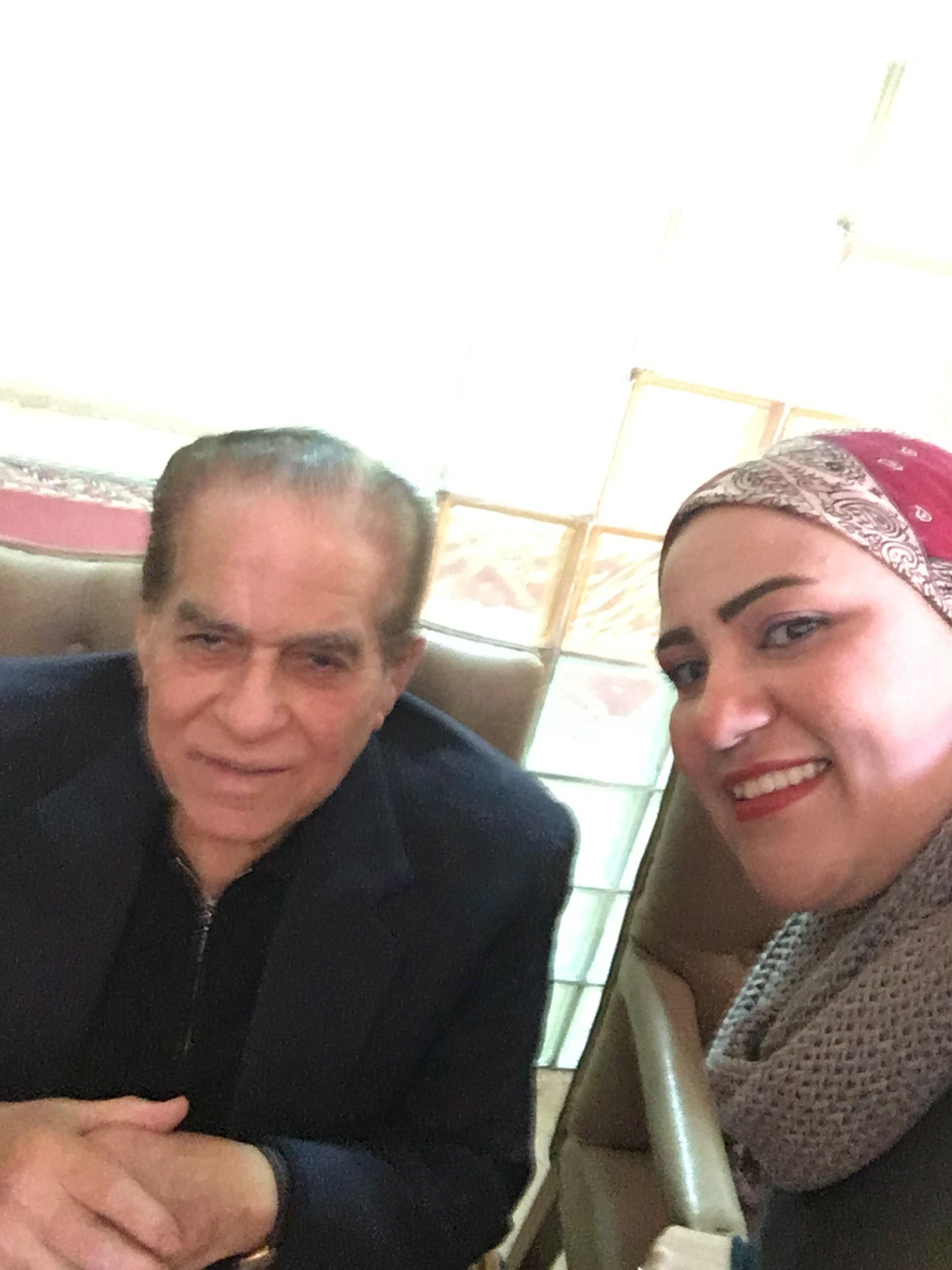 الدكتور كمال الجنزوري رئيس وزراء مصر الاسبق ومحررة اليوم السابع