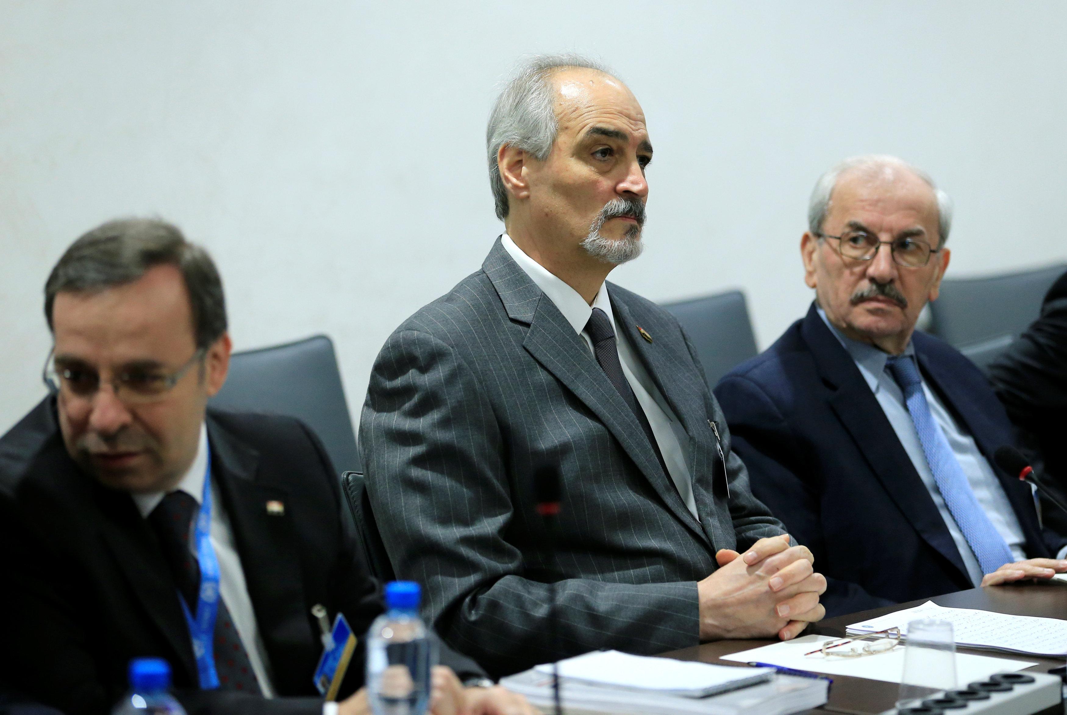 دي ميستورا: الهدف من اعتداءات حمص