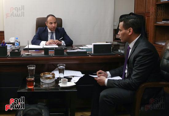 حوار مع المحامي محمد أبو شقة  (1)