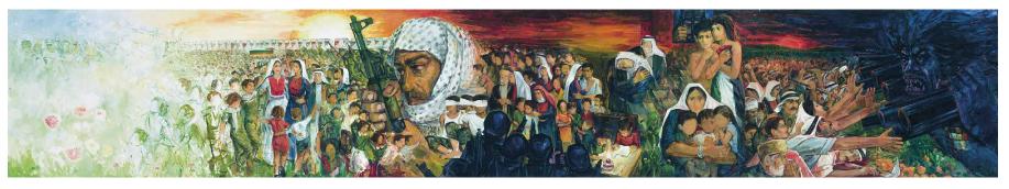 الفنان الفلسطينى إسماعيل شموط