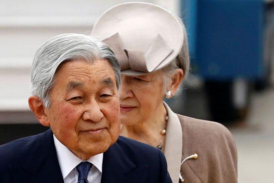 الأمبراطور-اليابانى-وزوجته-الأمبراطورة-ميتشيكو
