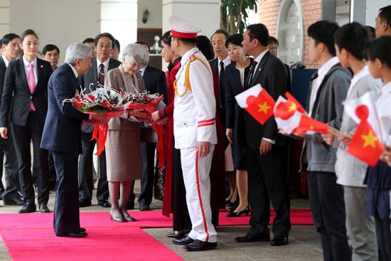 فعاليات-استقبال-الأمبراطور-اليابانى-وزوجته