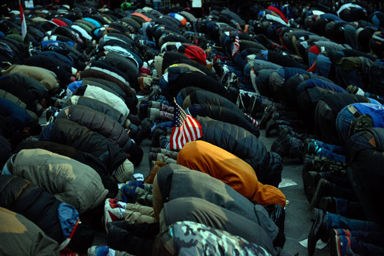 لحظة السجود خلال الصلاة