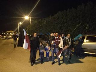 استعداد كافيهات السويس قبل مباراة مصر و الكاميرون  (2)