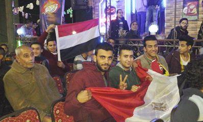 جماهير الشرقية تستعد لمباراة منتخب مصر  (3)