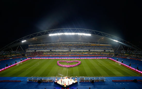 حفل ختام كأس الأمم الأفريقية 2017 (2)