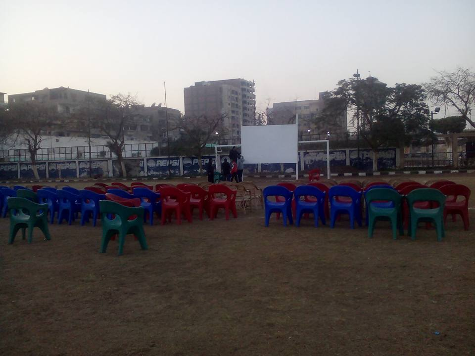 استعداد نادى المنيا لنهائى كأس الامم الافريقية  (3)