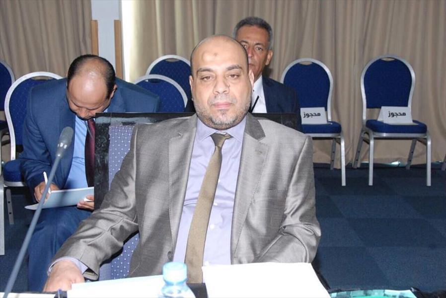 """وزير العدل الليبى لـ""""اليوم السابع"""": قانون العفو ينطبق على سيف الإسلام القذافى.. واحتجاز سلطات لبنانية لـ""""هانيبال"""" ابتزاز.. إقامة مهاجرين على أراضينا مرفوض.. ونتمنى نجاح جهود مصر فى حل الأزمة الليبية 67908-%D9%88%D8%B2%D9%8A%D8%B1-%D8%A7%D9%84%D8%B9%D8%AF%D9%84-%D8%A7%D9%84%D9%84%D9%8A%D8%A8%D9%89"""