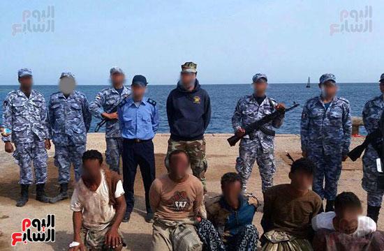 القوات البحرية تحبط محاولة تهريب مخدرات عّن طريق البحر