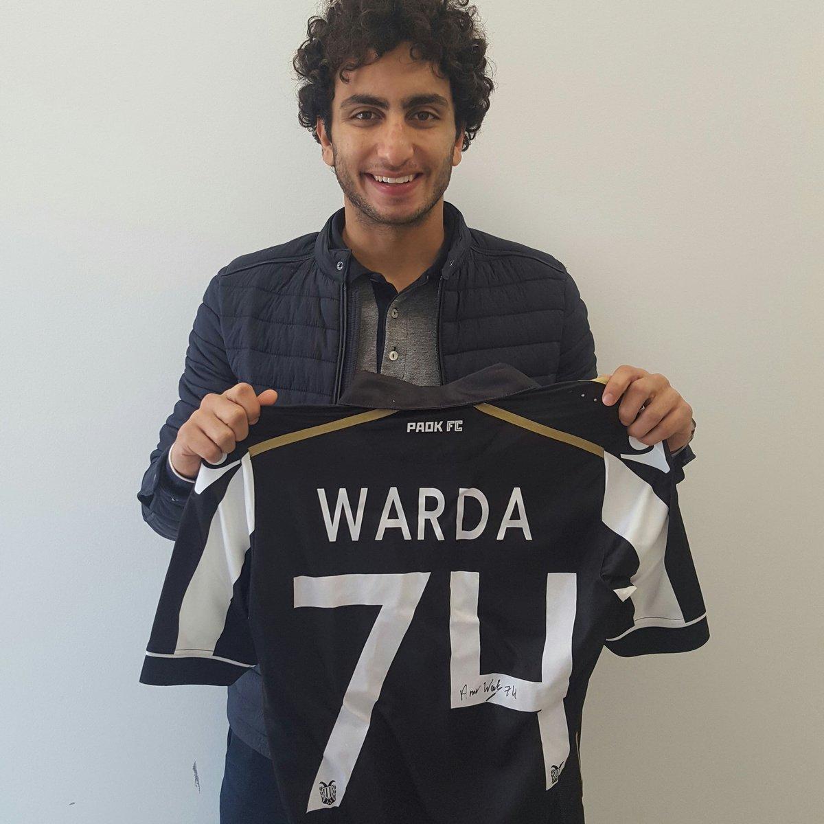 عمرو وردة بقميص باوك الجديد
