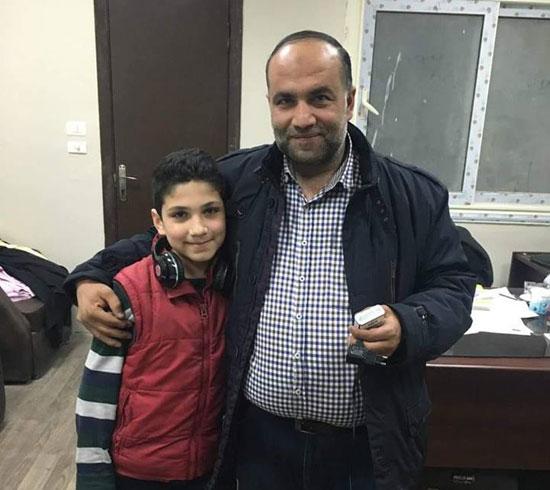 رجوع-الطفل-السورى-المخطوف-(2)
