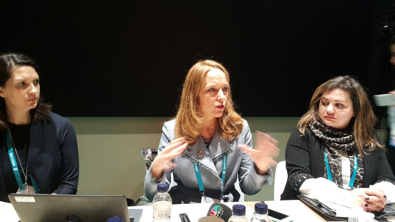 إلين ويدمان رئيس قطاع الاستدامة و المسؤولية المجتمعية بإريكسون العالمية