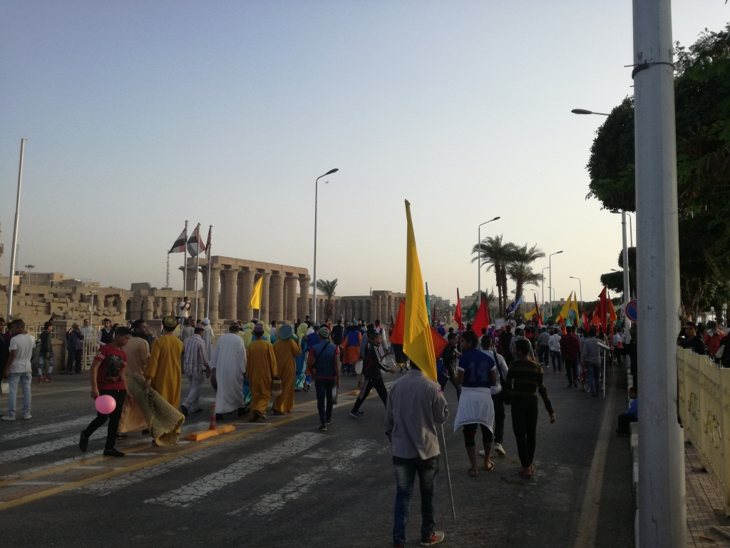 فعاليات مهرجان الفنون بكورنيش النيل بالأقصر