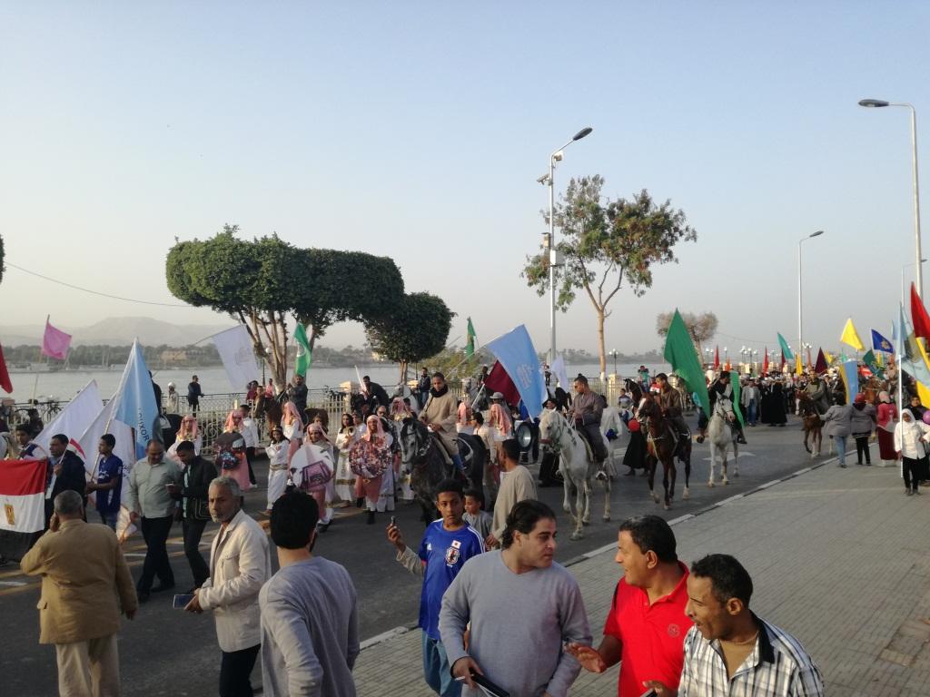 أكثر من 500 شاب وفتاة من محافظات مصر يشاركون بالفعاليات