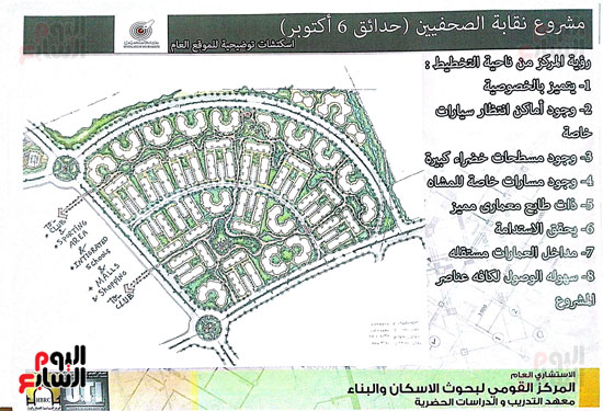 مشروع مدينة الصحفيين بـ6 أكتوبر (1)