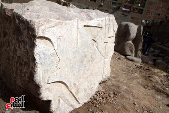 الآثار تخذل الملك رمسيس الثانى وتتركه لأطفال المطرية (10)