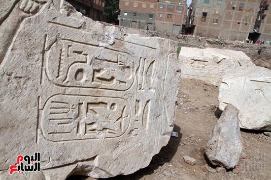 الآثار تخذل الملك رمسيس الثانى وتتركه لأطفال المطرية (13)