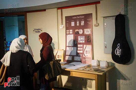 معرض Harvest 5 لطلاب كلية الفنون والتصميم بالجامعة (24)