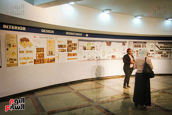 معرض Harvest 5 لطلاب كلية الفنون والتصميم بالجامعة (16)