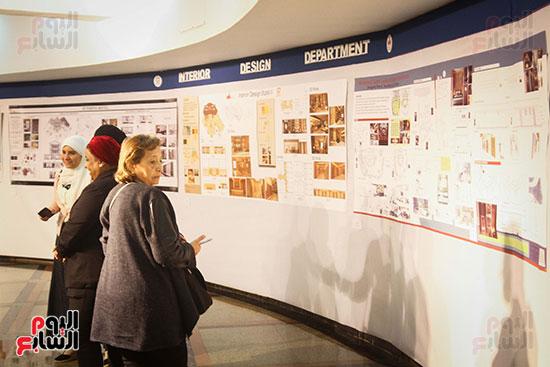 معرض Harvest 5 لطلاب كلية الفنون والتصميم بالجامعة (21)