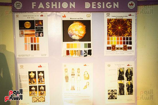 معرض Harvest 5 لطلاب كلية الفنون والتصميم بالجامعة (15)