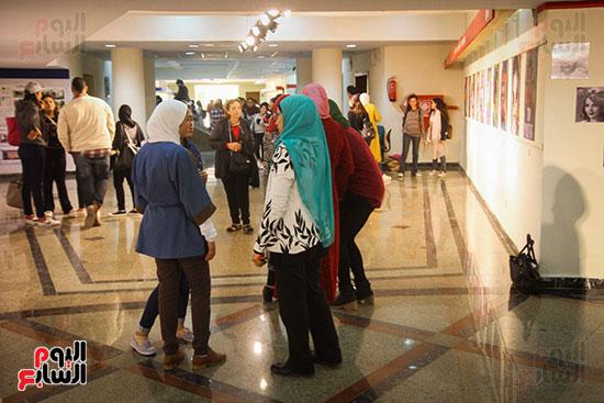 معرض Harvest 5 لطلاب كلية الفنون والتصميم بالجامعة (19)