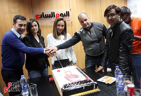 اليوم السابع يحتفى بريهام سعيد