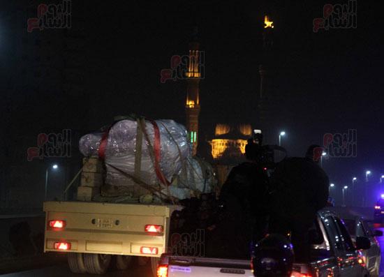 من السوق إلى العرش.. رحلة تمثال الملك رمسيس من المطرية إلى المتحف المصرى (8)