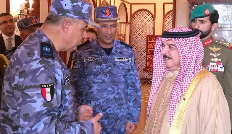 انتهاء فاعليات التدريب المصري البحريني المشترك (5)