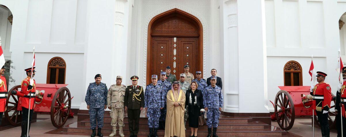 انتهاء فاعليات التدريب المصري البحريني المشترك (4)