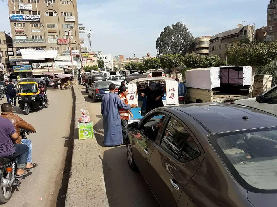 3 توقف الحركة بمدينة سندوب