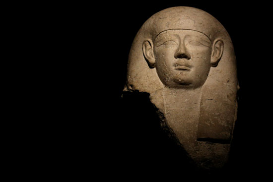 تمثال صخرى فرعونى فى نيويورك