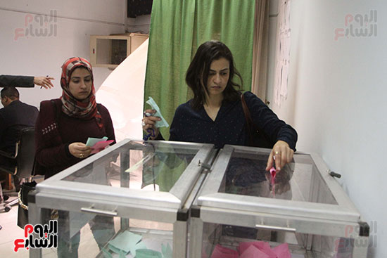 انتخابات التجديد النصفى للصحفيين (7)