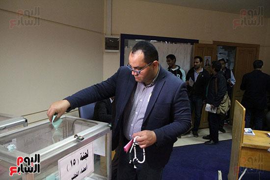 انتخابات التجديد النصفى للصحفيين (2)
