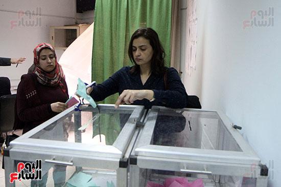 انتخابات التجديد النصفى للصحفيين (8)