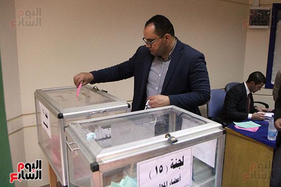 انتخابات التجديد النصفى للصحفيين (3)