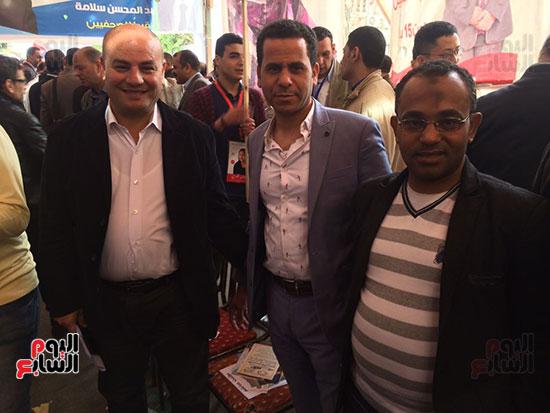 الزميل محمود الضبع