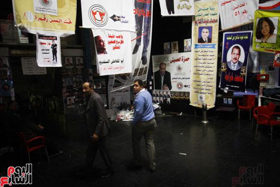 استعدادات نقابة الصحفيين لانتخابات التجديد النصفى (27)