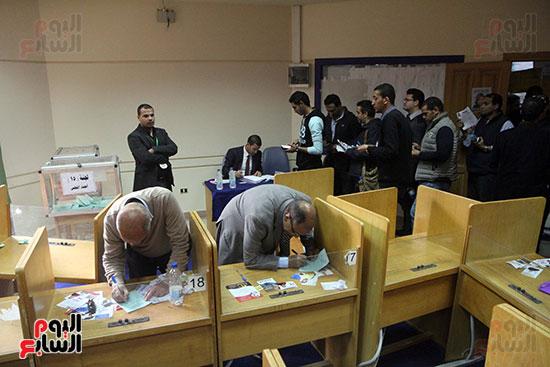 انتخابات التجديد النصفى للصحفيين (5)