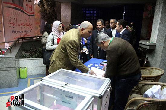 انتخابات التجديد النصفى للصحفيين (18)