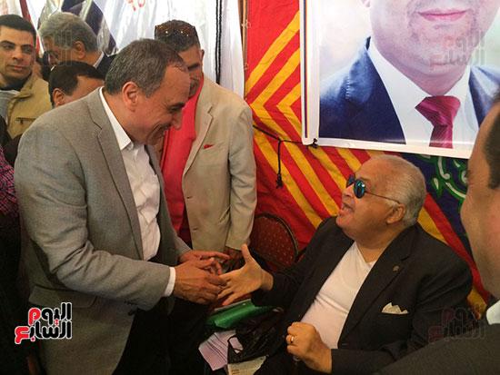 الكاتب الصحفى الكبير إبراهيم حجازى فى الجمعية العمومية