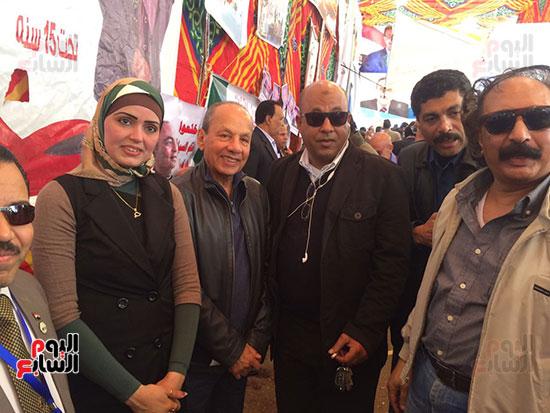 الكاتب الصحفى الكبير عمرو عبد السميع والكاتب الصحفى محمود بكرى