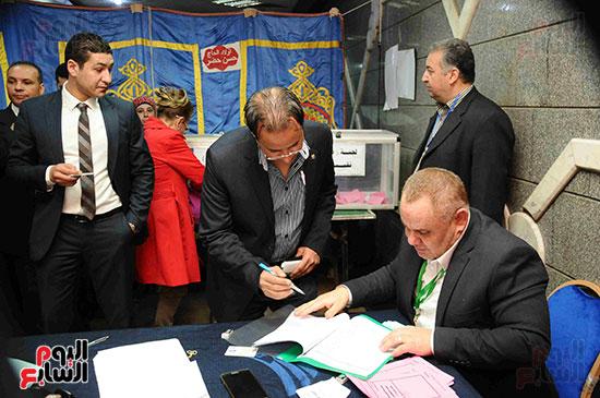 انتخابات التجديد النصفى للصحفيين (33)